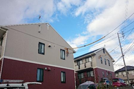 日進市 P様アパート 外壁塗装・屋根塗装