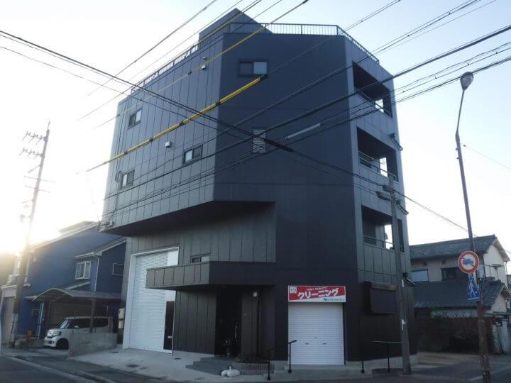 名古屋市港区H様邸 屋上防水 外壁塗装