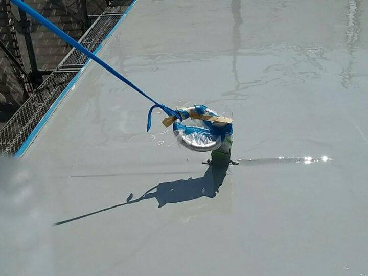 屋上の陸屋根トップコート