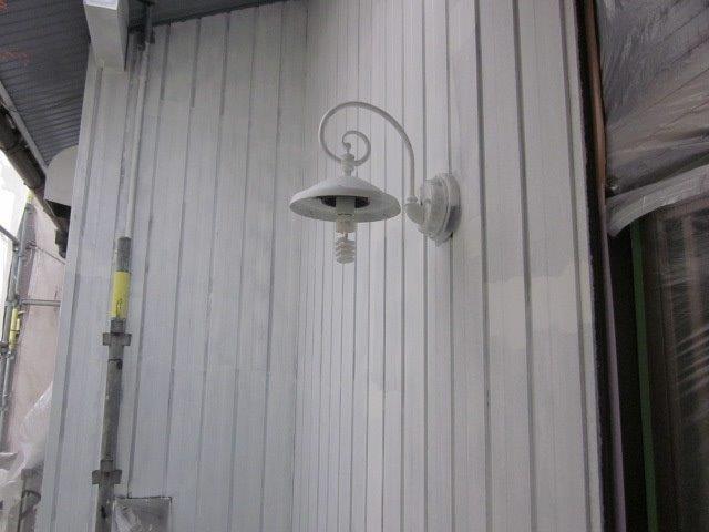外壁トタン下塗り完了
