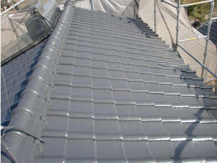 名古屋市中川区A様邸 屋根塗装