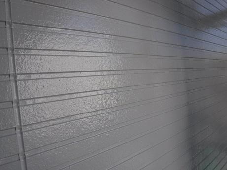 外壁の上塗り(中塗り)