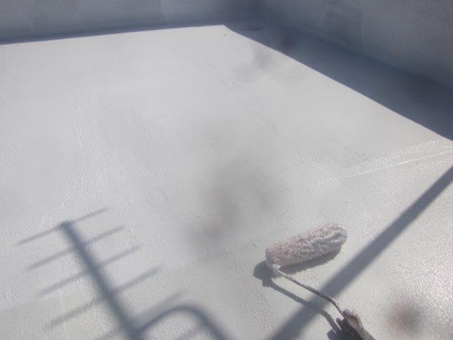 屋上防水断熱塗装