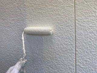 外壁塗装上塗り