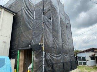 外壁塗装 屋根塗装足場解体