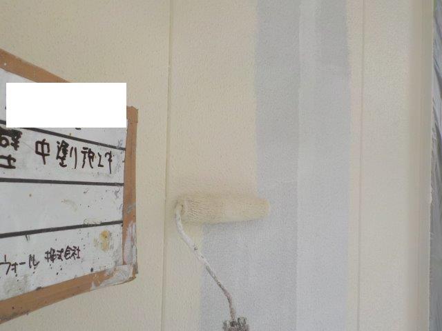 外壁塗装上塗り塗装
