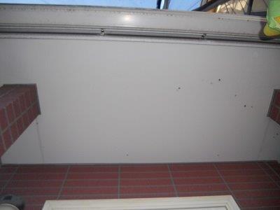 外壁付帯部塗装