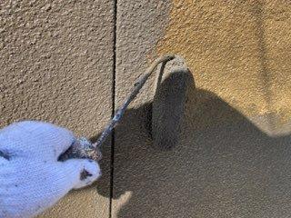 外壁アクセント塗装