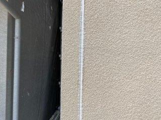 外壁サイディング目地コーキング打替え施工後