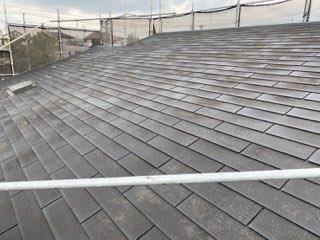 屋根カラーベスト塗装施工前