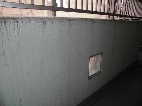 外壁モルタル塗装施工前