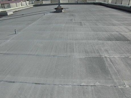 屋上防水塗装施工前