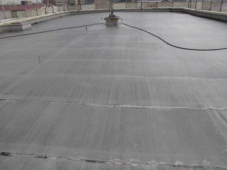屋上防水高圧洗浄施工後