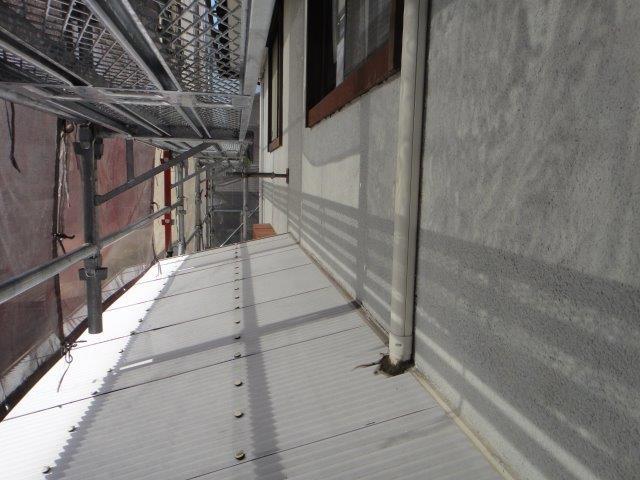 外壁サイディングの塗装施工前