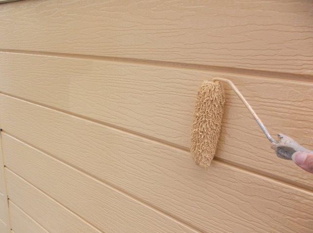 外壁サイディング上塗り塗装