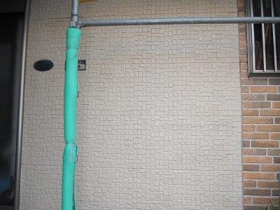 外壁サイディング施工前