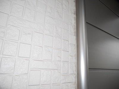 外壁サイディング高圧洗浄後