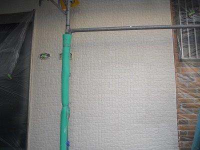 外壁断熱塗料塗装後