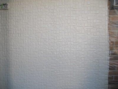 外壁断熱塗料二回目塗装後