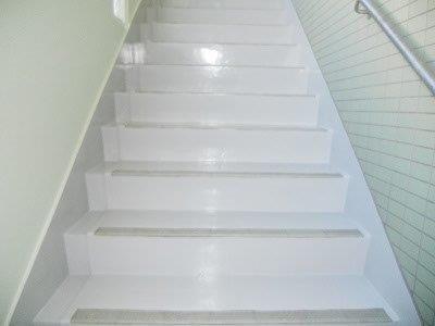 内部階段塗床塗装