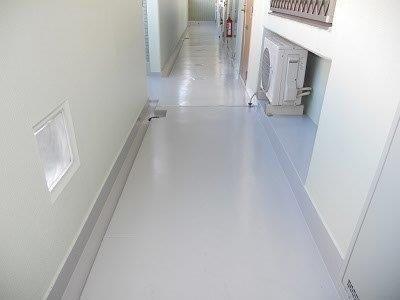 通路塗床塗装