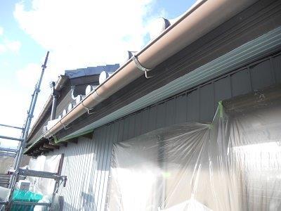 外壁付帯部塗装前
