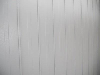 外壁板金中塗り塗装完了