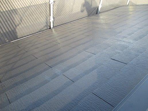 屋根塗装前の高圧洗浄完了