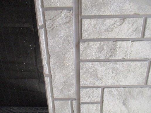 外壁サイディングの塗装前の目地のコーキング打替え施工前