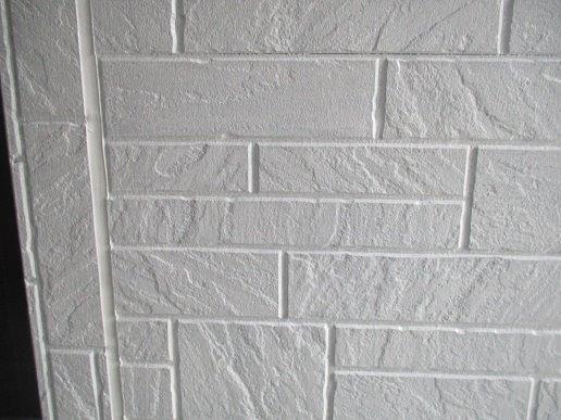 外壁サイディング下塗り塗装完了