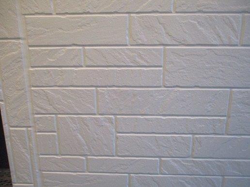 外壁サイディング中塗り塗装完了