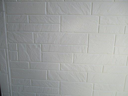 外壁サイディング上塗り塗装完了