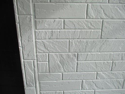 外壁サイディングトップコート塗装完了