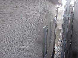 外壁サイデイングトップコート塗装完了