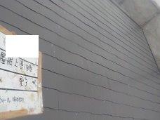屋根塗装遮熱塗料一層目塗装完了