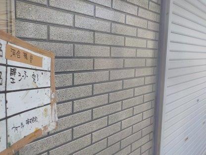 外壁サイディング下塗り一層目塗装完了