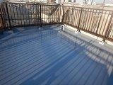 屋上陸屋根防水完了