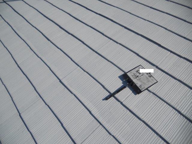 屋根塗装下塗り完了