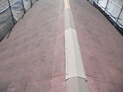屋根塗装施工前