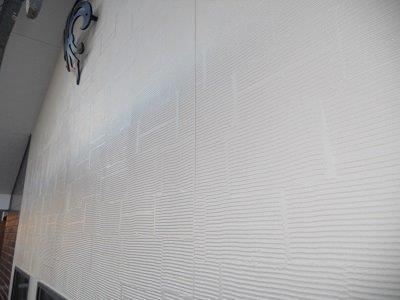外壁サイデイング塗装完了