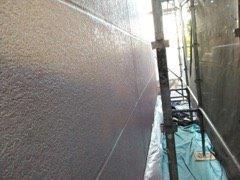 外壁ALC塗装上塗り塗装完了