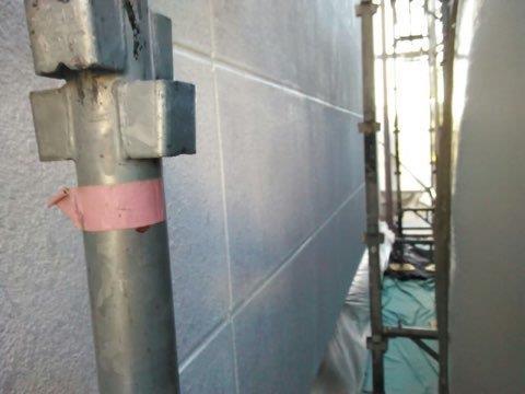 外壁ALC塗装下塗り二層目塗装完了