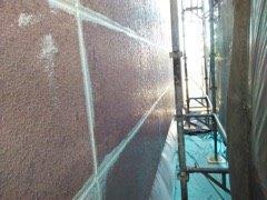 外壁ALC塗装前コーキング補修完了