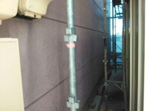 外壁ALC塗装施工前