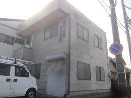 屋根塗装 外壁塗装施工前全景