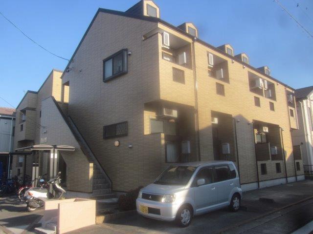 名古屋市 守山区 Lアパート様 外壁クリアー塗装仕様 屋根遮熱シリコン塗装仕様