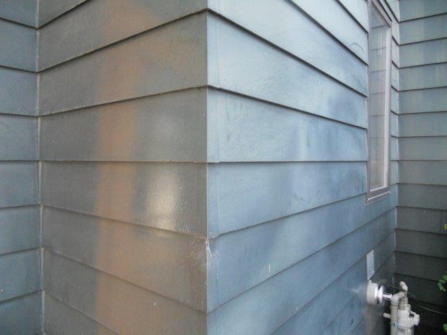 外壁板金塗装施工前
