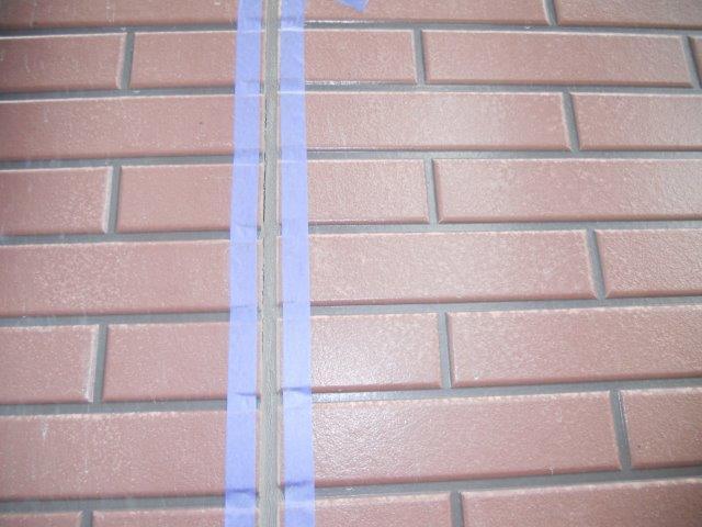 外壁サイディング目地コーキング打替え施工前