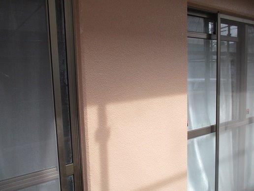 外壁モルタル面上塗り塗装完了