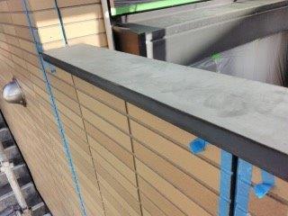 笠木板金塗装施工前